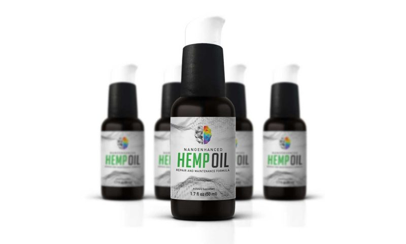 Hemp Oil from Down 2 Earth Market